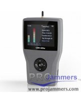 CAM105W - Detector de frequência 2G, 3G, 4G e Wi-Fi Bluetooth