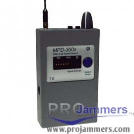 MPD-300X - Detector de frequência GSM - 3G - 2G - GPRS