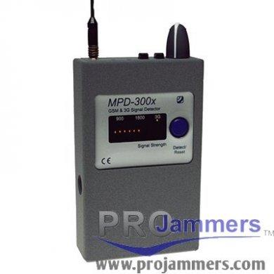 Detector de frecuencias MPD-300X GSM y 3G