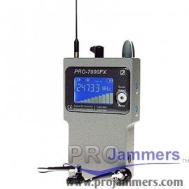 PRO7000FX - Professionelle Digital Pocket RF-Detektor