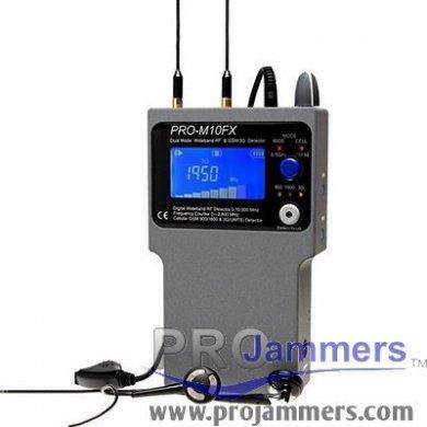 PRO-M10FX modo dual de banda ancha RF y Detector GSM / 3G