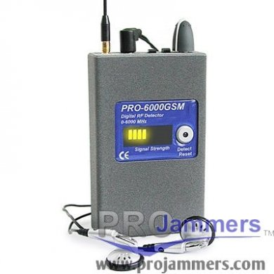 Professional Digital Pocket Bug Detector - PRO6000GSM